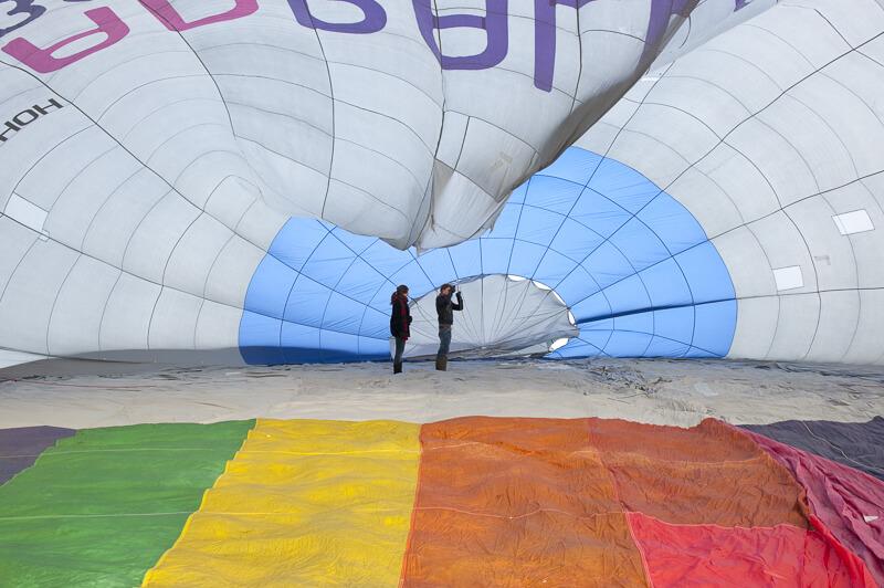 de zwaan ballon2